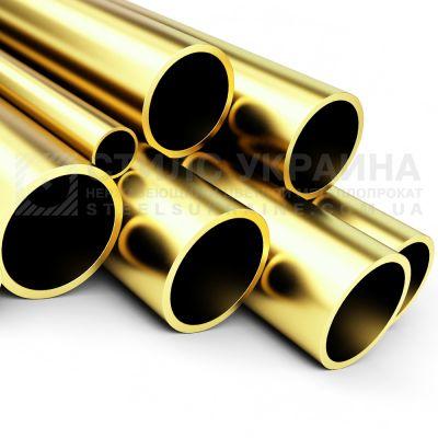 Труба латунная 25х1 мм Л63 купить цена латунь